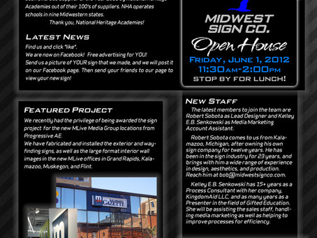Midwest Sign Company Newsletter