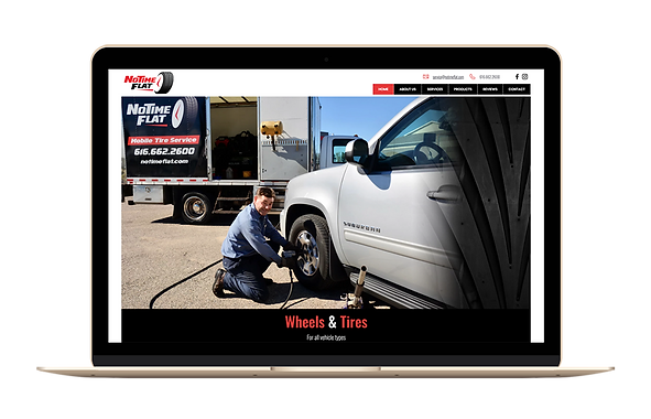 Automotive website in Grand Rapids