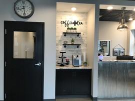 Customer Coffee Bar Area