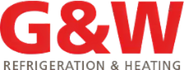 G & W Refrigeation and Heating Logo