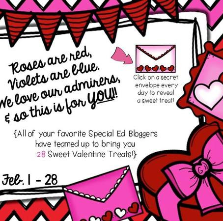 Special Educators' Valentine's Blog Hop - Unwrap 28 Gifts!