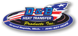D&B Heat Transfer Products official logo