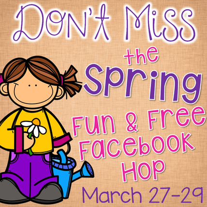 Spring Fun and Free Facebook Hop - 30+ Freebies!