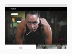 Video Web Design Sample
