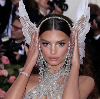 Emily Ratajkowski at the 2019 Met Gala