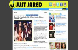 Jessica Caban & Bruno Mars - Grammys