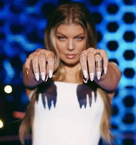 Fergie at The Four: Battle for Stardom on FOX