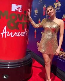 Cathy Kelley at the 2019 MTV Awards