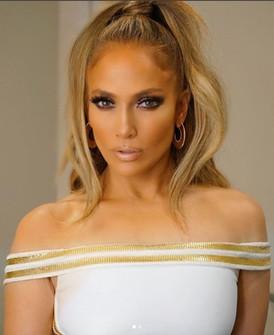 Jennifer Lopez at her 100th Las Vegas Show