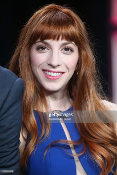 Molly Bernard wearing Dana Michele earings