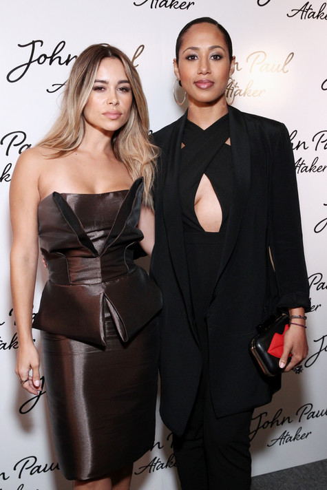Zulay Henao and Margot Bringam attend Jean Paul Ataker SS17 Show during NYFW