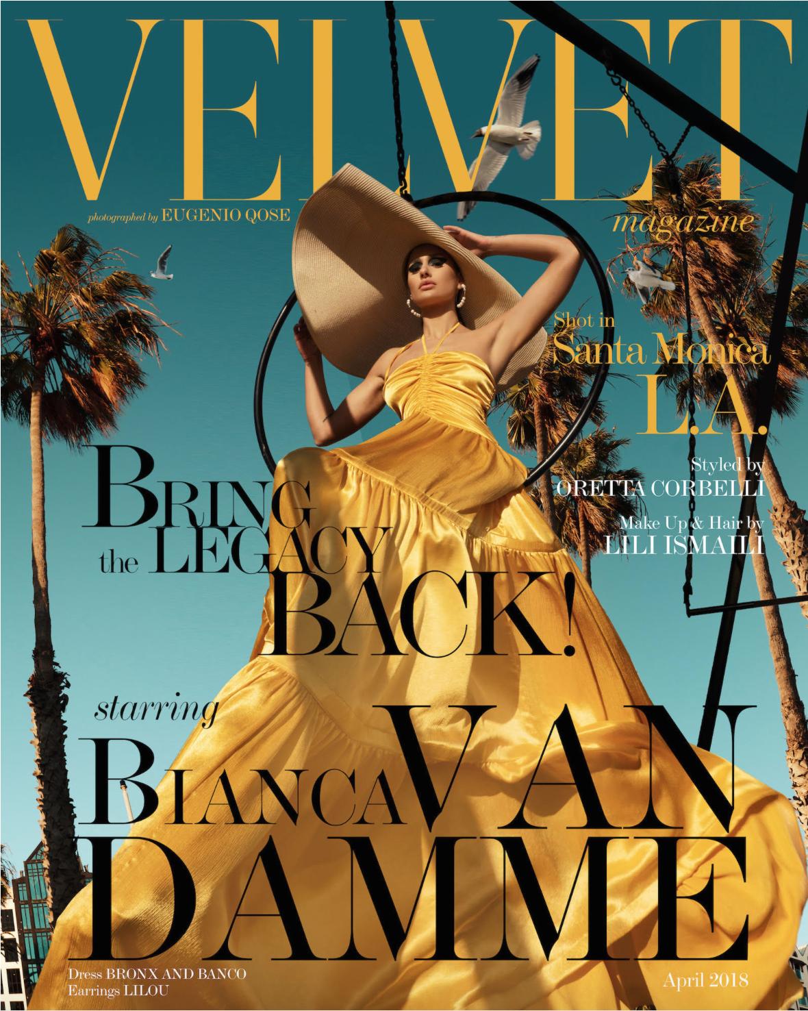 Bianca Van Damme in a VELVET Italia