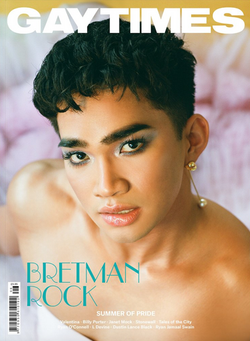 Bretman rock on the cover of Gay Tim