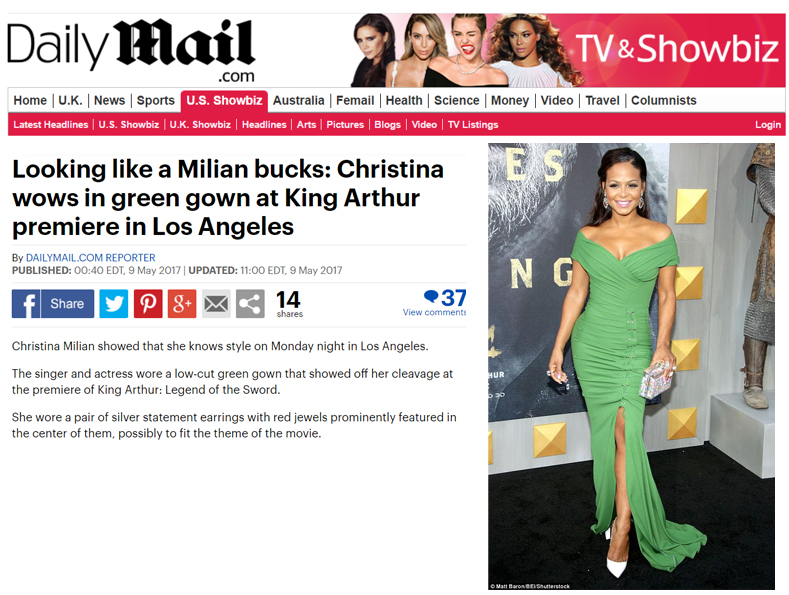 Christina Milian Daily Mail copy