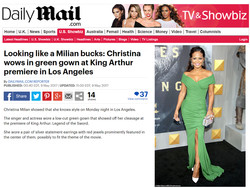 Christina Milian Daily Mail copy
