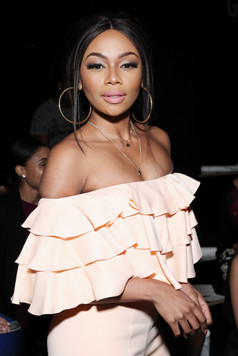 Bonang Matheba attends SS17 Jean Paul Ataker during NYFW