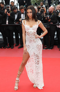 Chantel Jeffries at Cannes Film Festival
