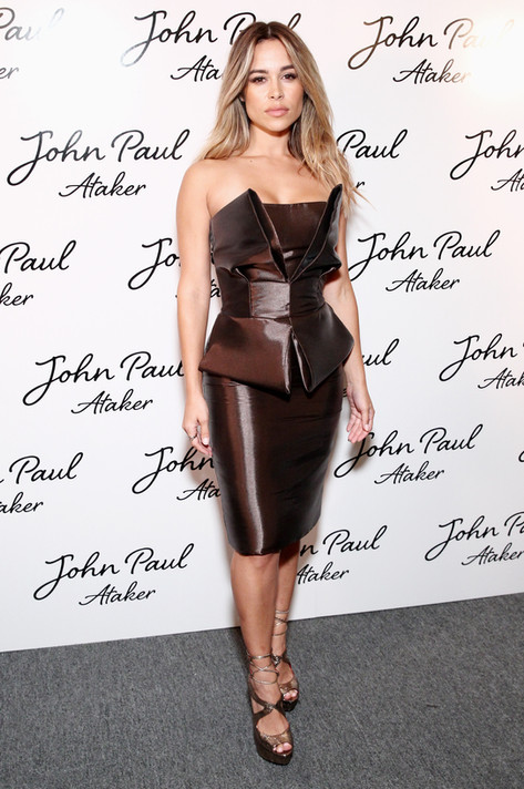 Zulay Henao attends Jean Paul Ataker SS17 Show during NYFW