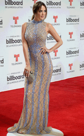 Shannon De Lima wearing Dana Michele jewelry at the Latin Billboard Awards