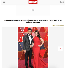 Alessandra Rosaldo - Hola! Magazine