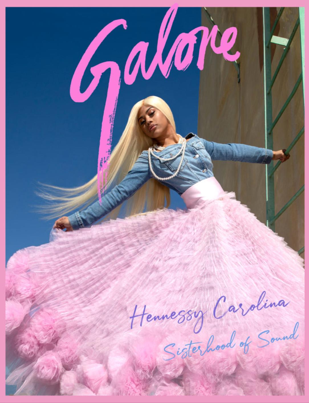Lauren Jauregui in Galore magazine