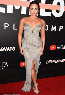 Demi Lovato at Premiere Of YouTube's 'Demi Lovato: Simply Complicated'