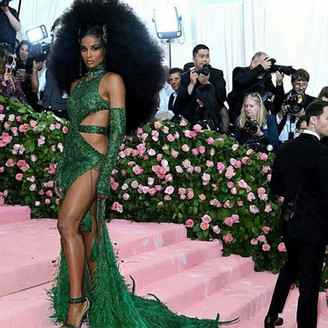 Ciara at the Met Gala 2019