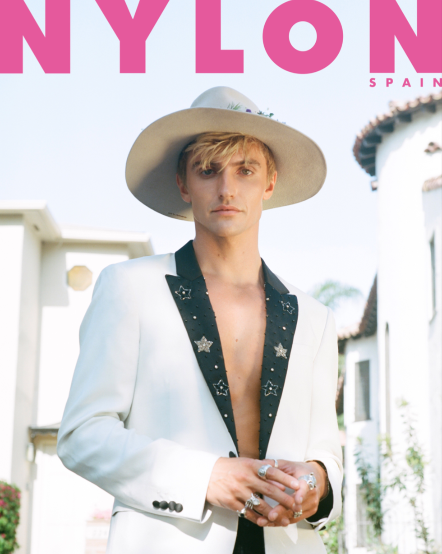 Hart Denton on the cover of Nylon Sp