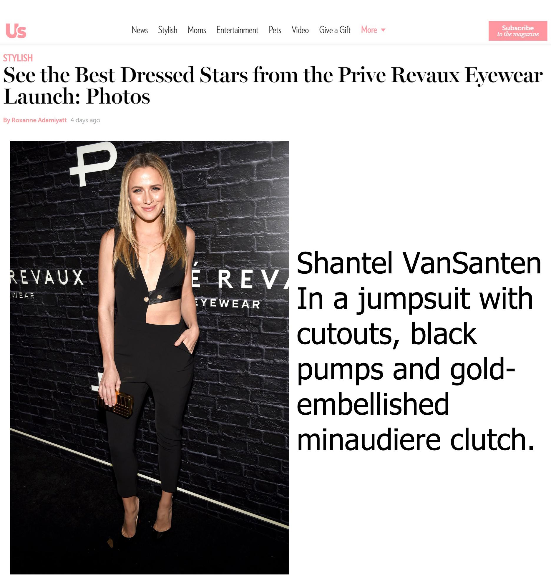 Shantel VanSanten Best Dressed