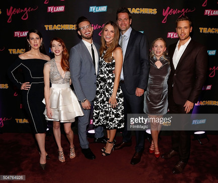 "Molly Bernard wearing Dana Michele jewelry at ""Younger"" premiere"