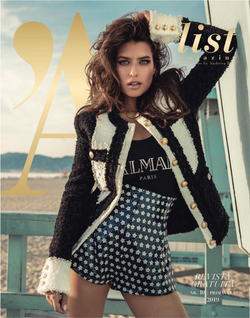 Alice Peneaca on the cover of A List