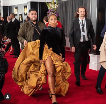 Ashanti at the 2019 Grammys