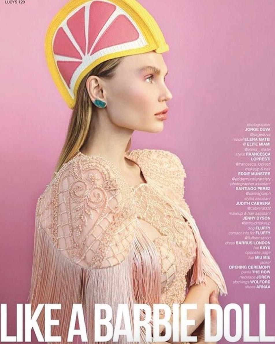 Elena Matei - Lucy's Magazine