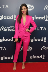 Victoria Justice at Inaugural Glaad Rising Stars Luncheon