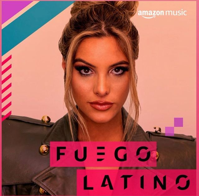 Lele Pons on the cover Amazon Music