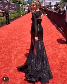 Cathy Kelley at the 2019 ESPY Awards