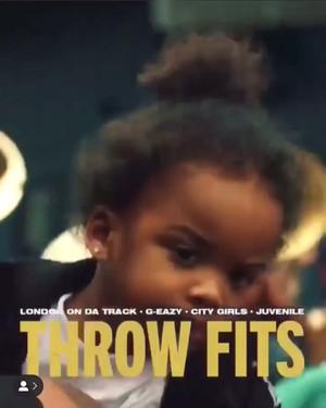 "Caresha's MV for her single ""Throw Fits"""