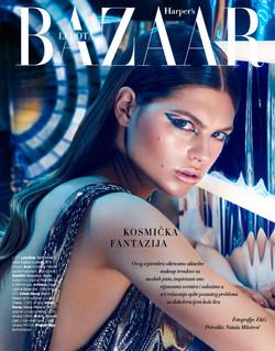 Joyce Echols in Harper's Bazar Serbi