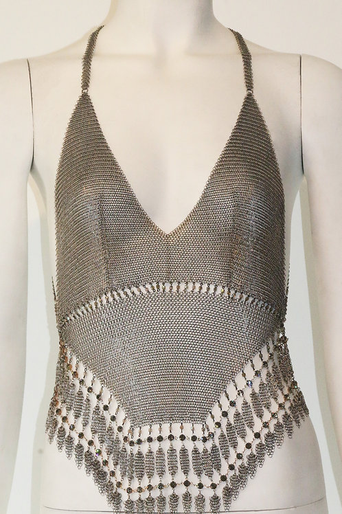Chainmail Backless Tank