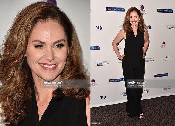 Amy Brenneman wearing Harper's PR Priavte Collection