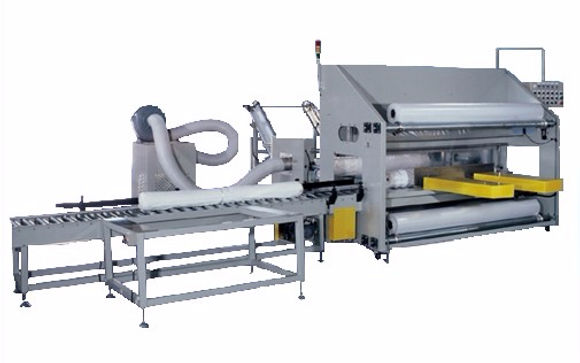LB-2400 Fully-Auto Cloth Packaging Machine (PE)