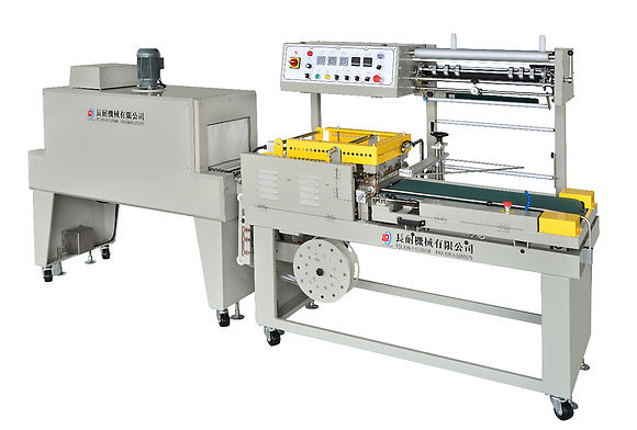 LA-460+LC-1200 Fully Automatic L-Sealer & Shrink Tunnel
