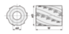 Spiral Cutterhead - SPB