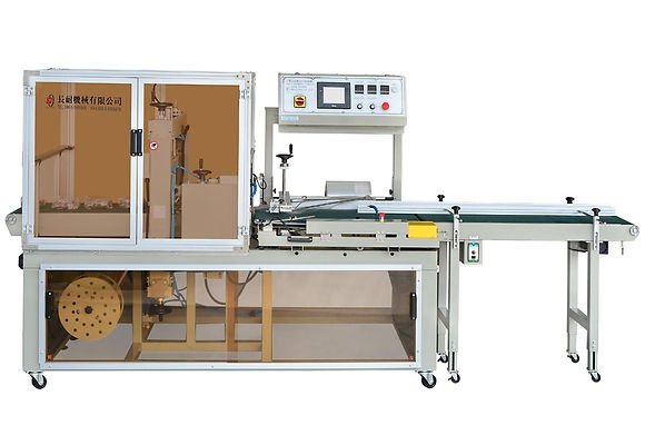 LA-410 Fully Automatic Side Sealer(Fast) & Shrink Tunnel