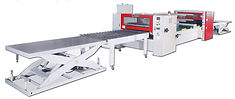 (PUR) HOT-MELTED GLUE LAMINATING LINE