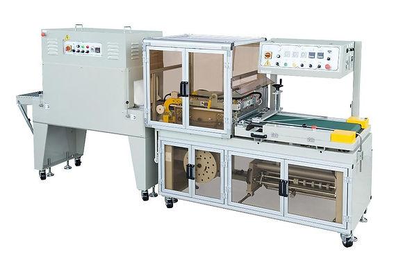 L型全自動封口包裝機(加壓克力)+收縮機(CE)