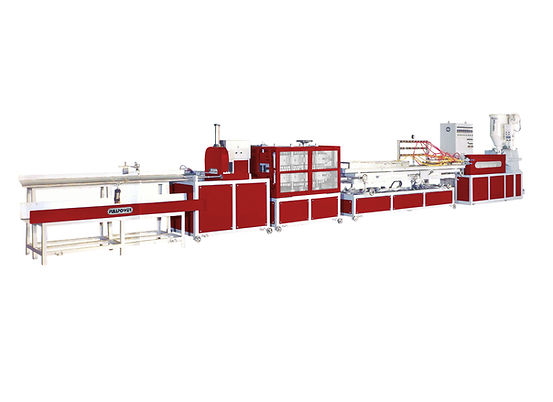 WOOD PLASTIC COMPOSITE PROFILE EXTRUDING MACHINE