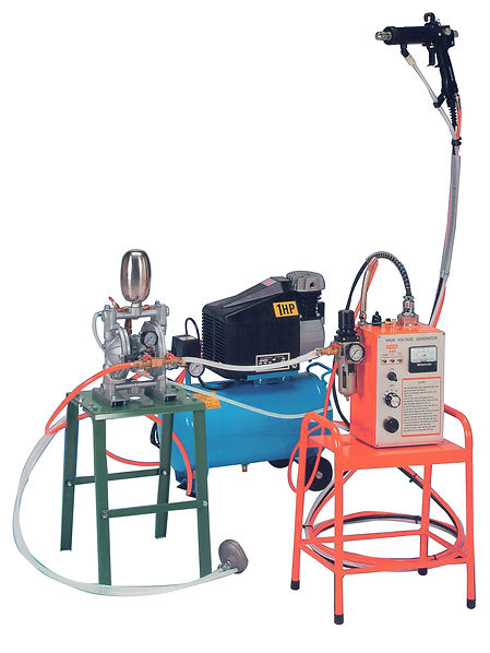 HIGH PERFORMANCE PORTABLE ELECTROSTATIC SPRAYING UNIT