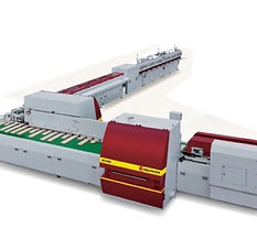 AUTOMATIC HORIZONTAL FINGER JOINTING LINE