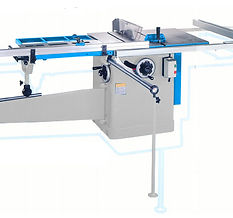 HANDLES BIG JOBS QUICKLY SLIDING TABLE SAW